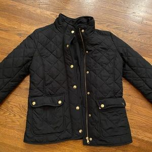 Like new J.Crew quilted field jacket